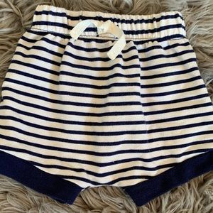 Striped Baby Shorts